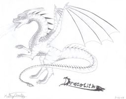Dracolith: Dragon Warrior by IndigoOfTheHeavens