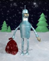 Bender loves you by IcedWingsArt