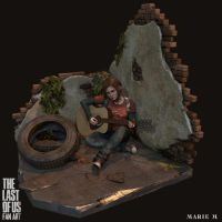 The last of us fan art Remastered, T-shirt Version by Azraele
