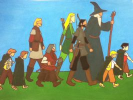 The Fellowship of the Ring by Autnott
