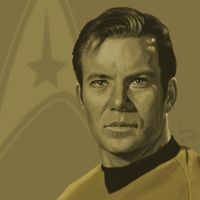 Star Trek TOS portrait series 01a - Kirk - Shatner by jadamfox
