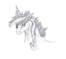 Scruffy Rebel, Twilight Sparkle scketch by FoldawayWings