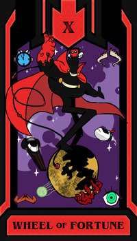 Red Hand : The Wheel of Fortune by Edspear