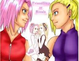 SakuInO , FriendShip or Rivals by SilenceSleep