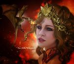 The mother of dragons by Fae-Melie-Melusine