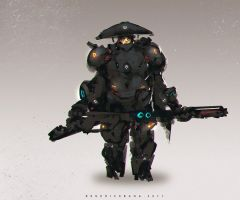 Gusion Soldier by benedickbana