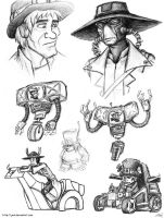 They're All Cowboys by JenL