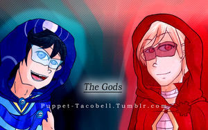 God of Wind and and the God of Time -with hood- by Kurikipi