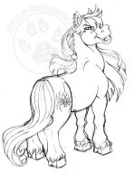 BlackWidow Pony by lady-cybercat