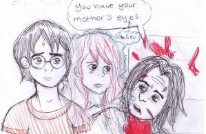 Your Mother's Eyes by SpideyzGirl