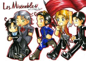 Les Miserables__cute style by skylord1015