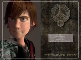 Hiccup in Hunger Games by Fate221