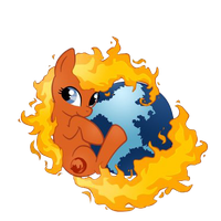 My Little Firefox- Icon PNG by UltimaShadow7