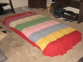 Mothers Finished Blanket B by Eagle07
