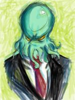 Cthulhu For President by UnsweetTii