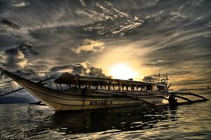 the boat 2 by burogski