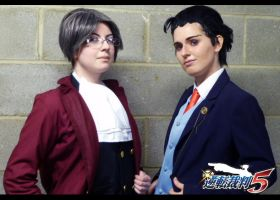 Ace Attorney: Dual Destinies by LauzyJayne