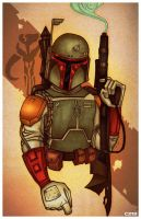 Boba Fett by chrissie-zullo