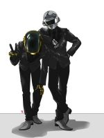 Daft punk! by A-KAchen