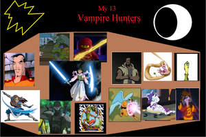 My 13 Vampire Hunters by MammalMage