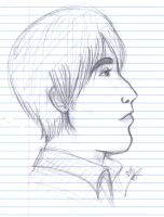Profile Sketch of Kevin by Neko-Serenity14
