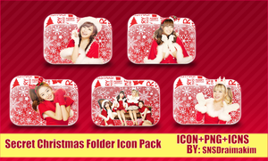 Secret- Christmas Folder Icon Pack by SNSDraimakim