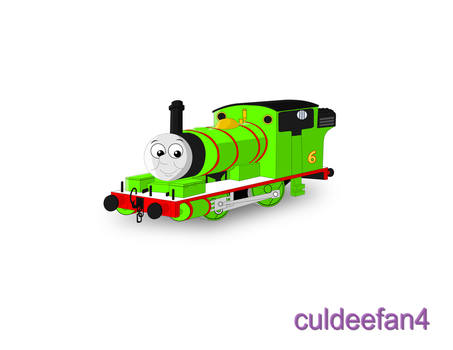 Percy the small Engine Colored by culdeefan4
