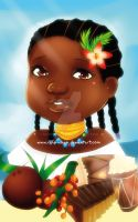 +Afrocolombian Girl+ by MYKProject