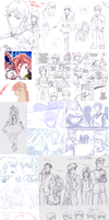 RP blog doodles compilation 1 by Fly-Sky-High