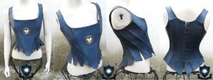 Margaery Leather Corset by LipCreativeStudio