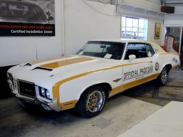 72 Hurst Olds Cutlass Pace Car by Partywave