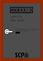 SCP-216 by Jinzo-Advance