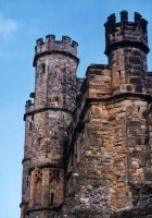 Gatehouse Walls by gmtb-stock