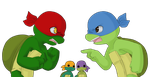TMNT:Don't you talk back to me by NamiAngel