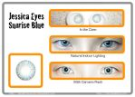 Princess Pinky Twilight Blue Circle Lenses by Stealthos-Aurion