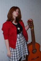Girl with a Guitar 3 by larissarainey