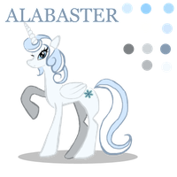 Alabaster Reference by LaCuisineFolle