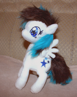 MLP Plushie Contest - Tiny Star as me, as a pony by Littledudus