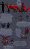 Larka 2010 Reference sheet by Heartlesswyvern