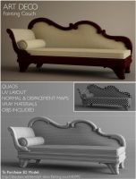 Fainting Couch- 3D for sell by Alanise
