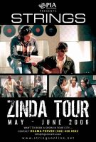 Strings US Zinda Tour Poster by aash