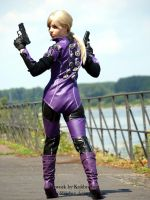 Jill Valentine - Battlesuit back - (Version 2010) by Kolibrichen