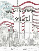 Sept 11 We Will Never Forget by NY-Disney-fan1955