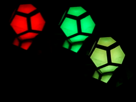 Mad Dodecahedron LED by NothinToSay