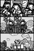 Jim Vs The Zombies page 2 by Noitcnuflam
