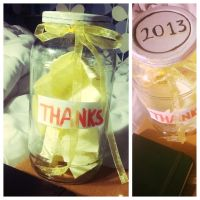 Jar of Thanks by Picklemind