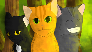 The First Arc Trio (HAS SPEEDPAINT) by Shatterwing123