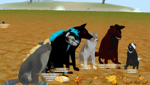 Feral Heart - Group photo by SeraJeria