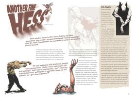 Magazine spread - Hess by Obsidian-Design