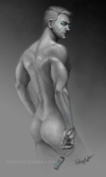 Cullen Rutherford - Anatomy study by Teshayel
